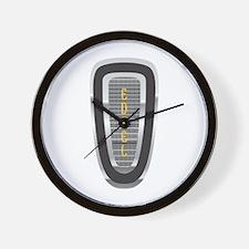 The Edsel Horsecollar Logo Wall Clock