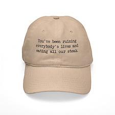 Ruining Lives 2 (blk) - Napoleon Baseball Cap