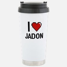I Love Jadon Travel Mug