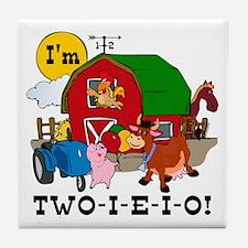 TWO-I-E-I-O Tile Coaster