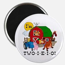 TWO-I-E-I-O Magnet