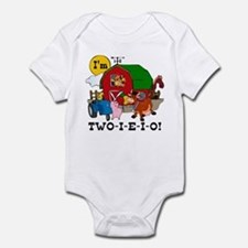 TWO-I-E-I-O Infant Bodysuit
