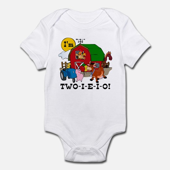TWO-I-E-I-O Infant Bodysuit