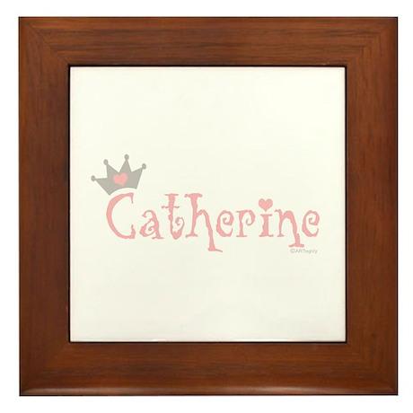 Princess Catherine Framed Tile