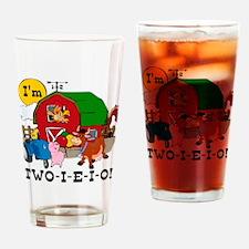 TWO-I-E-I-O Drinking Glass