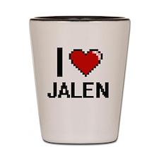 Funny Jalen Shot Glass