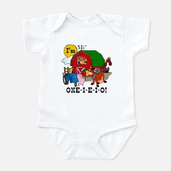 ONE-I-E-I-O Infant Bodysuit