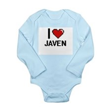 I Love Javen Body Suit