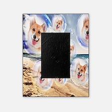 Beach Corgis Picture Frame