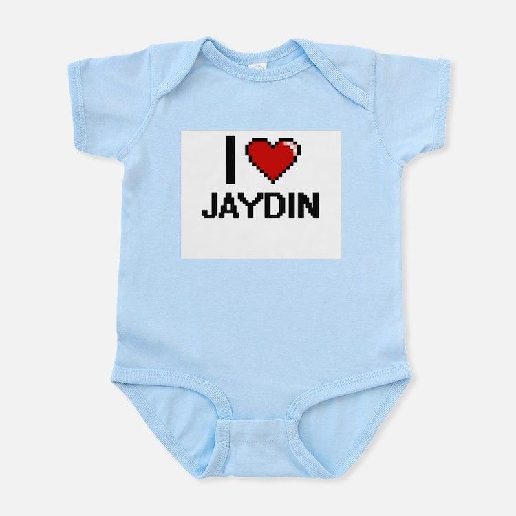 I Love Jaydin Body Suit