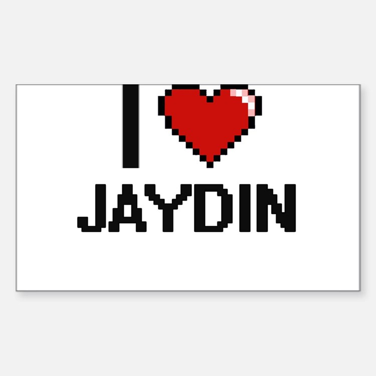 I Love Jaydin Decal