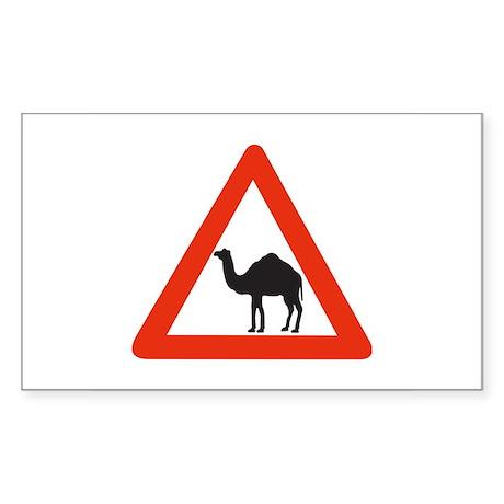 Danger Camels - UAE Rectangle Sticker