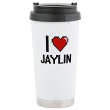 I Love Jaylin Travel Coffee Mug