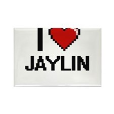 I Love Jaylin Magnets