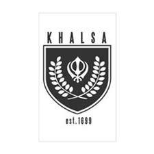 KHALSA - Rectangle Decal