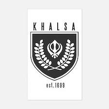 KHALSA - Rectangle Decal