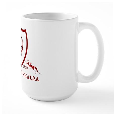 Powered by KHALSA - Large Mug