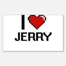 I Love Jerry Decal