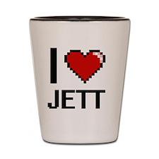 Funny Jett Shot Glass