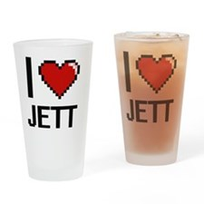 Unique Jett Drinking Glass