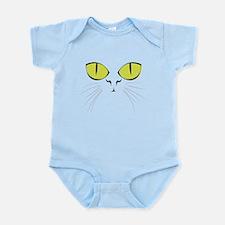 Cat's Face Infant Bodysuit