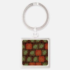 Information puzzle Square Keychain