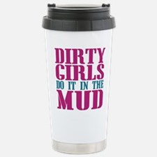 Mud Runners Stainless Steel Travel Mug