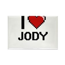 I Love Jody Magnets