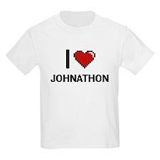 I Love Johnathon T-Shirt