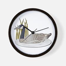 Goose-No Text Wall Clock