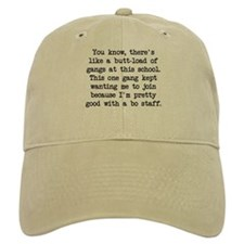 Pretty Good Bo Staff - Blk Baseball Cap