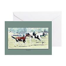"""Feeling Good"" Horse Art -Blank Cards (Pk10-boxed)"