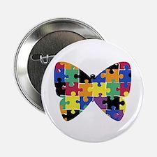 """Autsim Butterfly - 2.25"""" Button (10 pack)"""