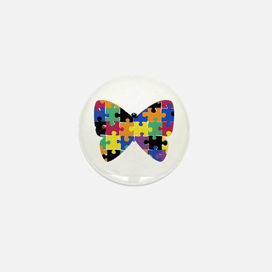 Autsim Butterfly - Mini Button