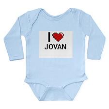 I Love Jovan Body Suit