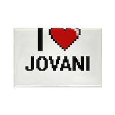 I Love Jovani Magnets