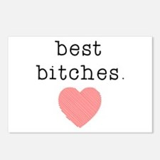 Best Bitches Postcards (Package of 8)