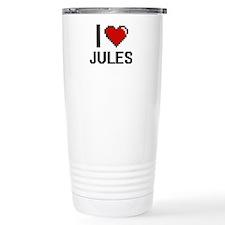 I Love Jules Travel Mug