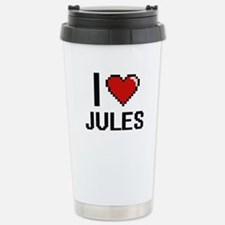 I Love Jules Travel Mug