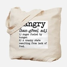 Hangry: Defined Tote Bag