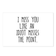 Miss You Postcards (Package of 8)