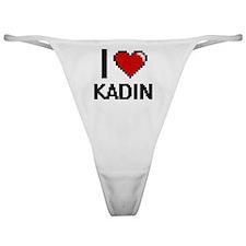 Cute Kadin Classic Thong