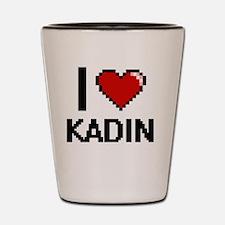 Cute Kadin Shot Glass