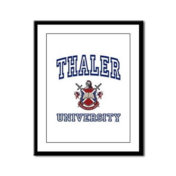 THALER University Framed Panel Print