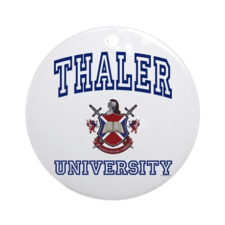 THALER University Ornament (Round)
