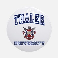 THALER University Ornament (Round)