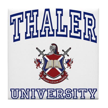 THALER University Tile Coaster