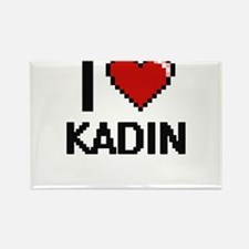 I Love Kadin Magnets