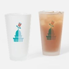 Capitol Building Drinking Glass