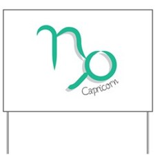 Capricorn Astrology Yard Sign